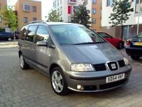 2005 Seat Alahambra 1,9 TDI 7 Seater FSH *Mint Condition*