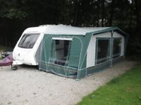Dorema full caravan awning Size 13 - Excellent condition
