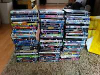 Large bundle of mixed dvds 89 approx