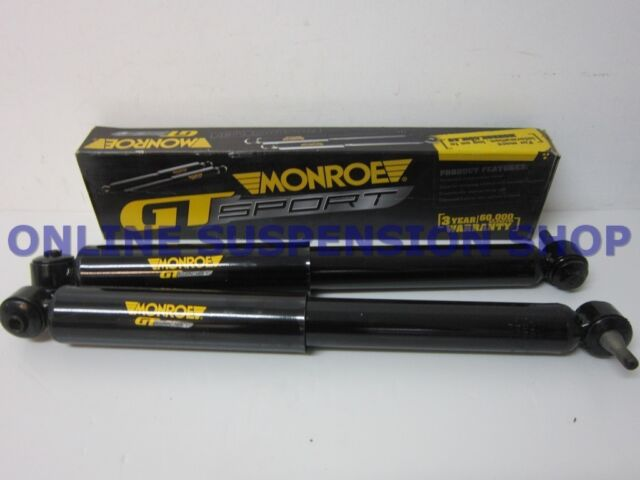 MONROE GT SPORT Short Rear Shock Absorbers to suit Ford Falcon BA BF Wagons