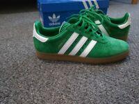 Adidas Originals 350 Green Suede