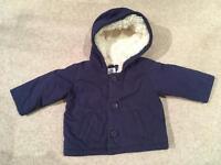 Mini Boden coat 6-12 months
