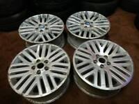 """Genuine OEM Ford titainium 17"""" alloy wheels volvo focus connect modeo"""