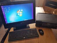 HP touchscreen PC & Epson Printer