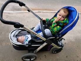 Oyster max pushchair