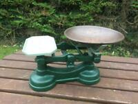 Cast Iron Kitchen Scales