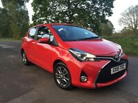 2015 TOYOTA YARIS 1.3 ICON VVTI 5 Door Hatchback