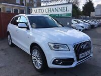 Audi Q5 3.0 TDI S Line Plus S Tronic Quattro 5dr (start/stop)£27,995 p/x welcome FREE WARRANTY.
