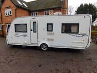 Fixed Bed 4 Berth Coachman ViP 535/4, 2008 model