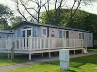 3 Bedroom Prestige Caravan with South facing decking at Primrose Valley Holiday Park, Filey