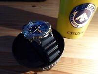 Rare Citizen Classic Retro Diver Promaster 5810-F80014 TA GN-4-S