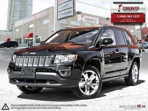 2016 Jeep Compass ***LEATHER***CHRYSLER CANADA EXECUTIVE VEHICLE