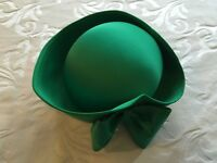 Emerald Green Hat