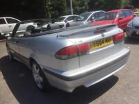 2001 saab 93 turbo auto convertible 1 off 66 k mls immaculate condition leather ac cd ling mot barg