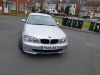 2005 AUTOMATIC BMW 1 SERIES 5DRS HATCHBACK LOW GENUINE MILEAGE £2149 CALL 07440307417 NO OFFERS