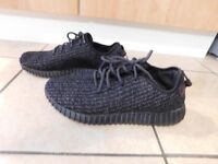 mens adidas yeezy boost pirate black uk 9.5