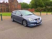2006 HONDA CIVIC TYPE R PREMIER EDITION. 65k GENUINE MILES AND FULL SRVICE HISTORY