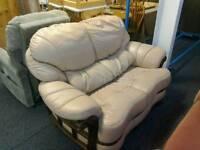 Dusky pink 2 Seater sofa #28487 £40