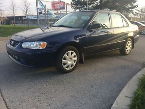 2001 Toyota Corolla SAFETY 3YEARS WARRANTY INCLUDED