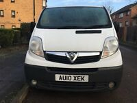 VAUXHALL VIVARO 1.9 CDTI 6 SPEED MANUAL WHITE PANEL VAN 2010 PLATE SAME AS TRAFIC