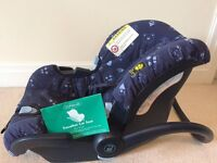 Mothercare baby car seat with instructions
