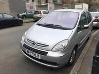 CITRON XSARA PICASSO 1.6 HDI VTX,2007 WITH ONE YEAR MOT
