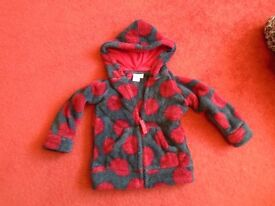 2 - 3 years Laura Ashley fleece coat