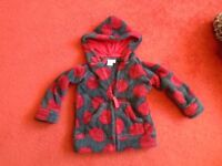 2 - 3 years Laura Ashley fleece coat