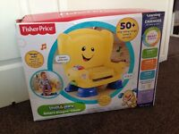 Fisher price smart stages laugh and learn chair, BRAND NEW AND BOXED £25 (RRP £36.99)