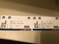 *now sold* Scotland vs Australia Rugby Sat 25th November