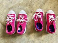 Girls Heeleys in Pink