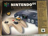 *BOXED* Nintendo N64 Goldeneye Limited Edition bundle