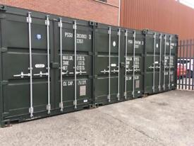 Storage container to let in Ashton business domestic storage tameside
