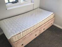 Single Bed & Mattress + Topper