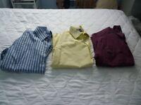 Various Quality Mens Shirts; Sizes 15 / 15.5