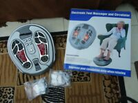 Electronic Foot Massager and Circulator