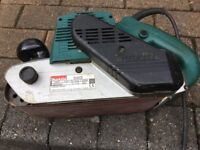 Makita belt sander 9403. 240 volt