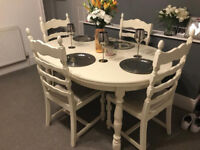 painted farmhouse dining suit