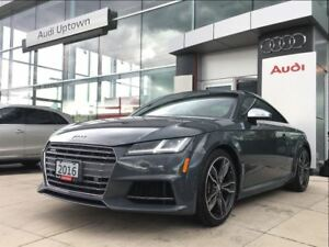 2016 Audi TTS 2.0T W/ NAVIGATION RED CALIPERS