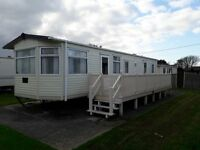 3 Bed Static Caravan for Sale Hampshire Nr Christchurch, 5 mins Walk to Sandy Beach