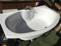 Luxury bath never used