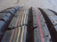 16inch new steel wheel brand new tyre 5x100 spare single vw bora seat leon audi tt