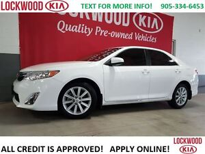 2014 Toyota Camry XLE - 1 OWNER TRADE, LEATHER, NAVIGATION
