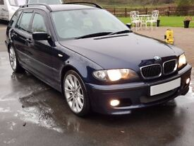 BMW 330D Touring M Sport (Genuine) - Full Leather - 12 Months MOT