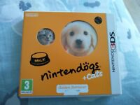 Nintendo 3DS Game - Nintendogs and Cats - Boxed and Perfect