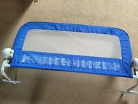 Blue Mothercare Bed Rail / Guard (used, excellent condition)