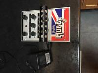 Electro harmonic English muff'n, overdrive, distortion pedal