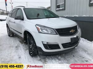 2017 Chevrolet Traverse LS | ONE OWNER | 8PASS | AWD