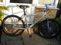 "MARIN HARDTAIL 26"" WHEEL BIKE 16"" ALUMINIUM FRAME IN GREAT WORKING ORDER"