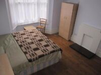 2 WEEKS DEPOSIT.Huge Double Room. Glass Fitted Wardrobes. East Acton. Zone-2. Lounge & Garden